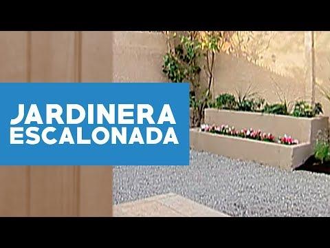 C mo hacer jardineras escalonadas youtube for Jardineras con bloques de hormigon