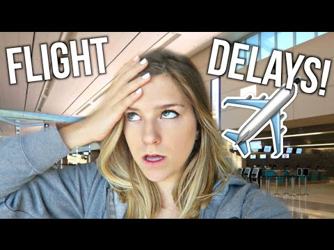 Crazy Flight Delays! Vegas Day 2!
