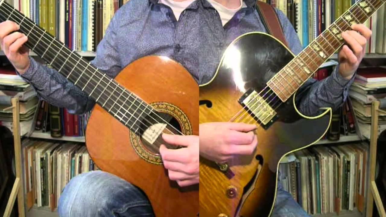 Seek Ye First The Kingdom Of God Solo Guitar And Accompaniment