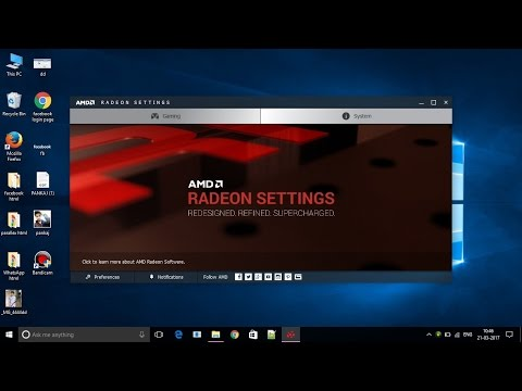How to Install AMD Graphics Driver in your Dell, HP ,LENOVO with win 10 OS.
