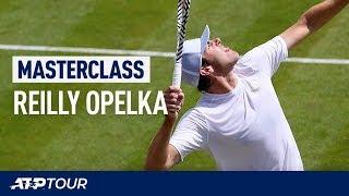 Fire Your Serve Like Reilly Opelka   MASTERCLASS   ATP