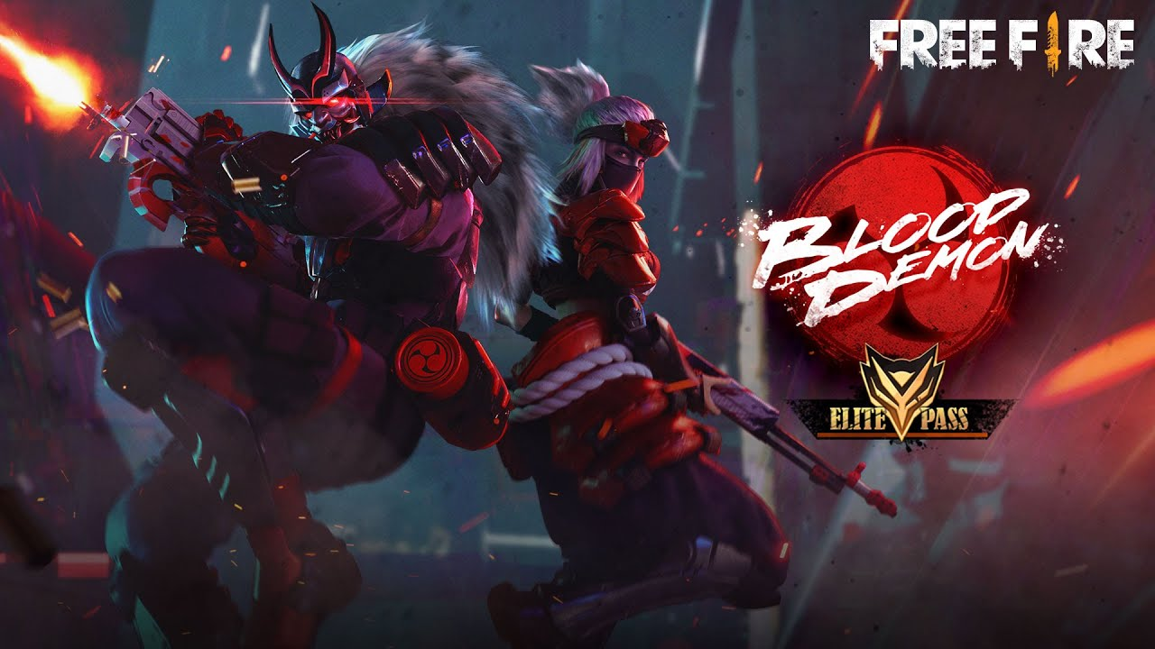 Garena Free Fire Introduces Blood Demon Rikoto Talkesport