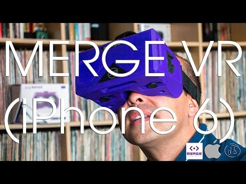 Merge VR Virtual Reality Headset with the iPhone 6 (Google Cardboard)