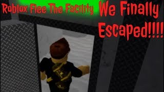 Roblox Flee The Facility: We Finally Escaped!!!!