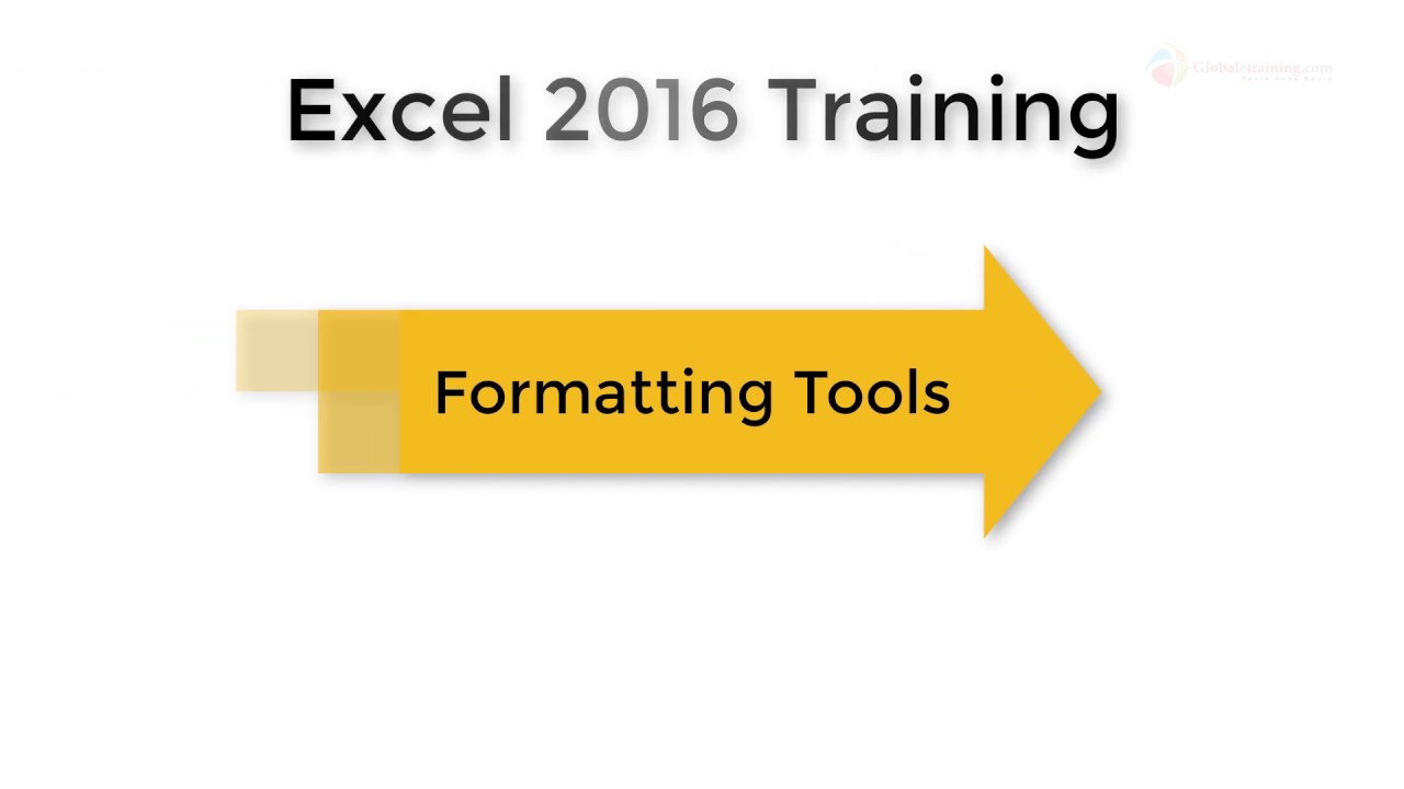Excel2016 S07 V001 P0 Formating Tools