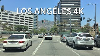 Los Angeles 4K - Glendale - Driving Downtown USA