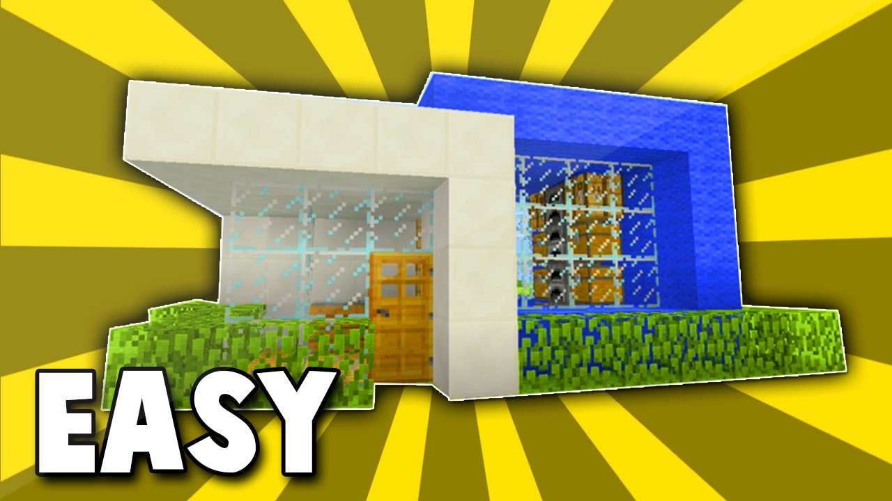 how to build a modern house minecraft ps4