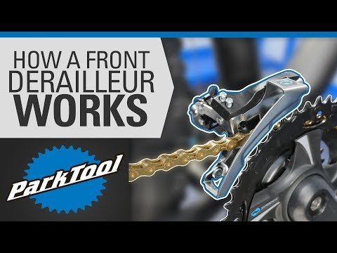 How a Front Derailleur Works