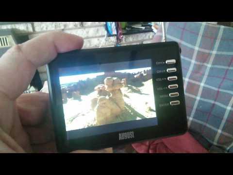 August digital pocket TV