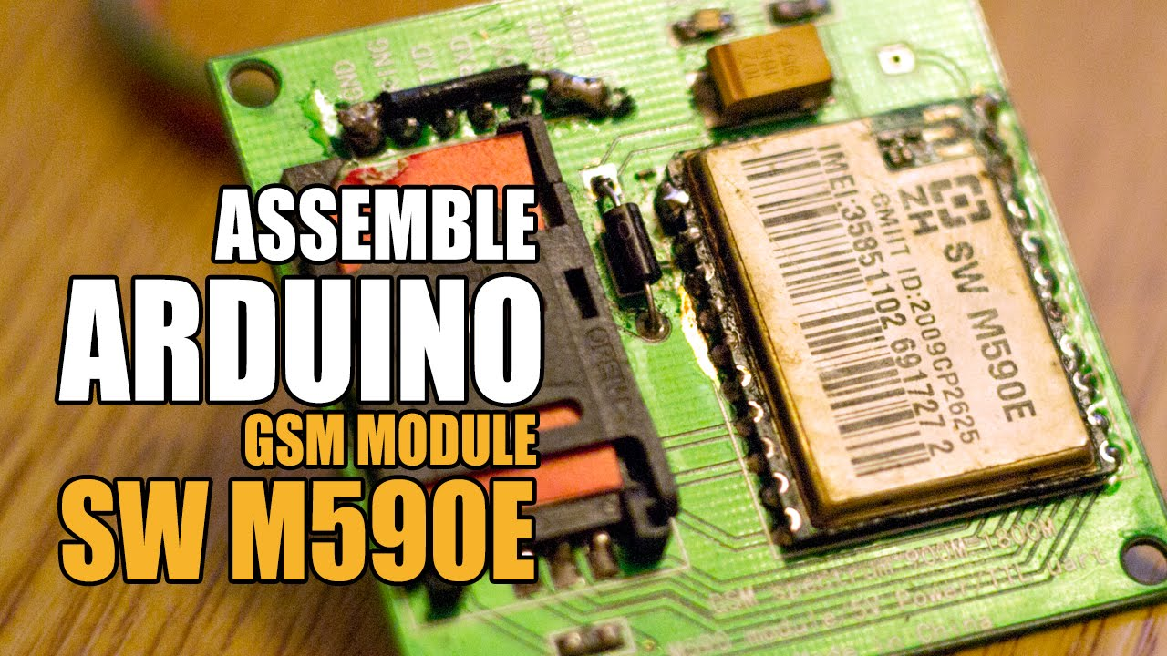 SW M590E Neoway Arduino GSM module  Rubbish in Terminal of COM port   Tutorial