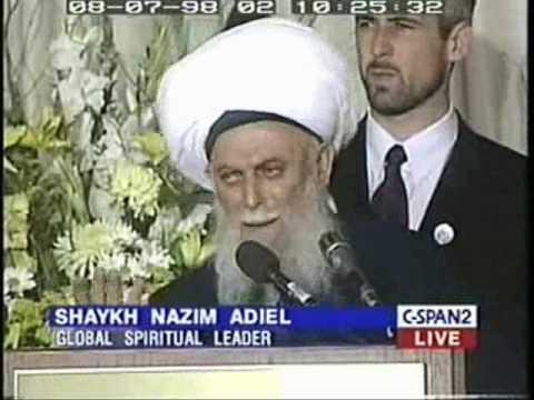 Shaykh Maulana Nazim Kibrisi: International Islamic Unity Conference (1 of 2)