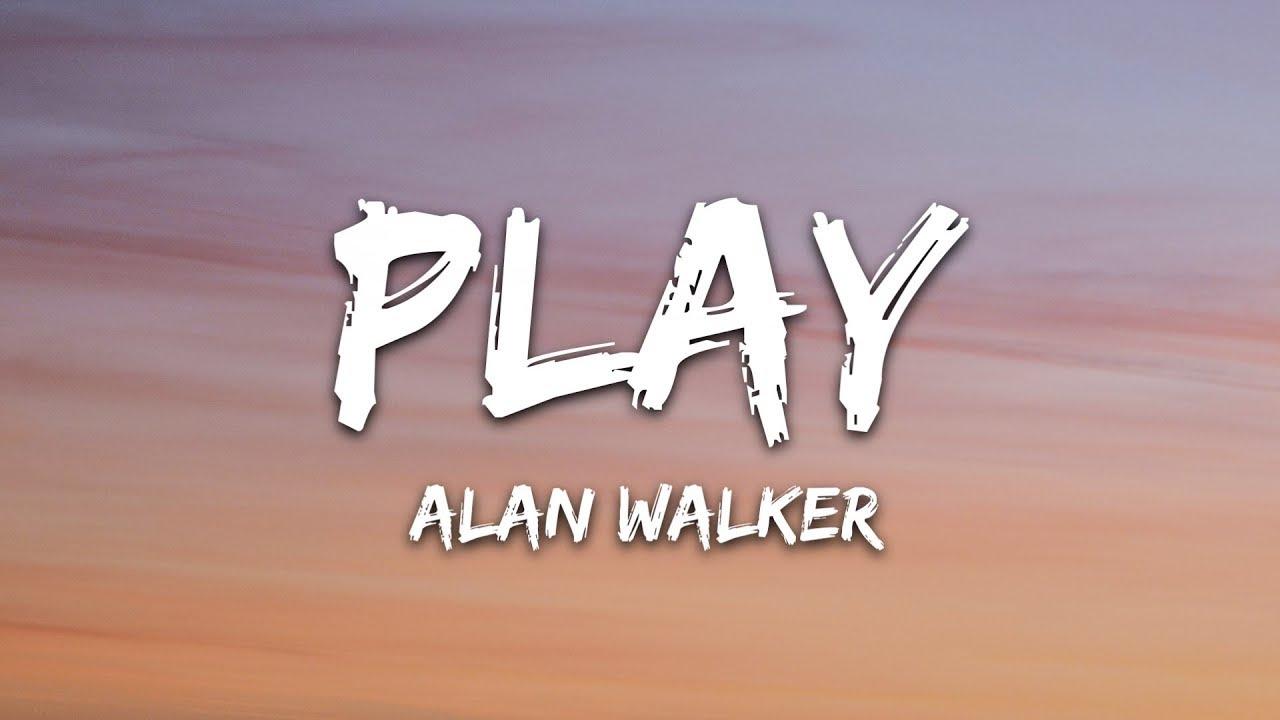 Download Alan Walker, K-391, Tungevaag, Mangoo - PLAY (Lyrics)
