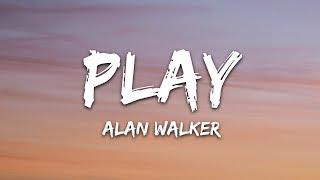 Gambar cover Alan Walker, K-391, Tungevaag, Mangoo - PLAY (Lyrics / Lyric Video / Letra)