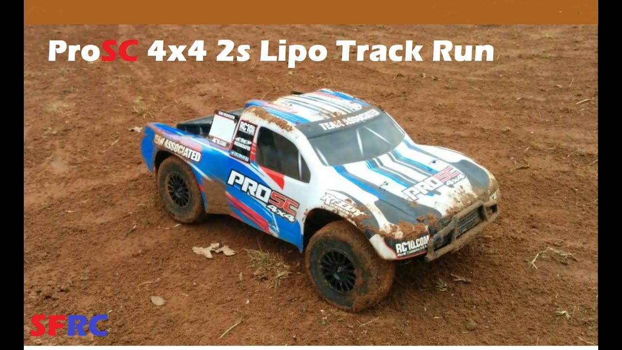 Team Associated ProSC 4x4 2s Lipo