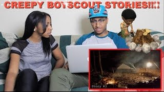 "Couple Reacts : ""3 Creepy True Boyscout Campout Horror Stories"" By Mr.Nightmare Reaction!!!"