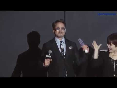 Robert Downey Jr Emotional Thank You Message To Fans At Avengers Endgame Fan Event In South Korea