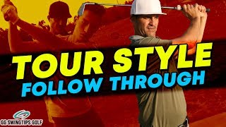 Follow Through Like a PRO   Complete Golf Swing