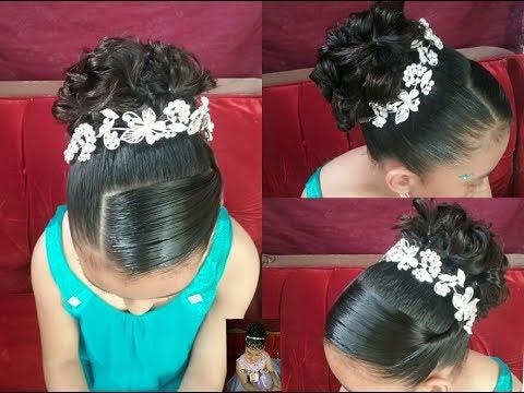 Peinado Para Ninas Recogido Elegante Facil Y Bonito Trenzas Nmba