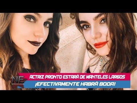 Sofía Castro asegura que hay boda con Pablo Bernot