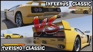 【 GTAV】 ¦ ¡¡INFERNUS (DIABLO) VS TURISMO (F40)!! ¦ BIGFOKU