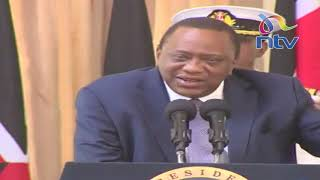 President Uhuru, once more, promises intensified fight on graft