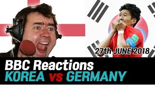Korea vs Germany 2018 Russia World CupㅣBBC Commentary