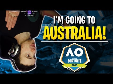 Fortnite - I'm going to Australia! | DrLupo