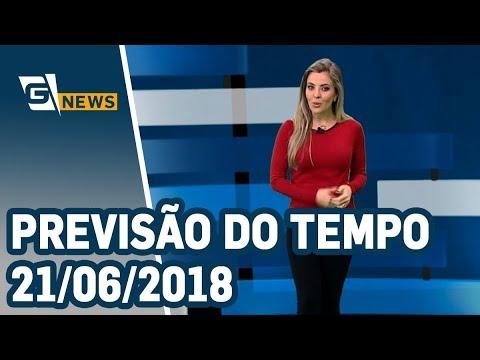 Previsão do Tempo - 21/06/2018