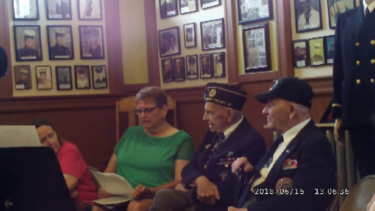 Charles Smith & Curtis Banker WWII Memories  6-16-18