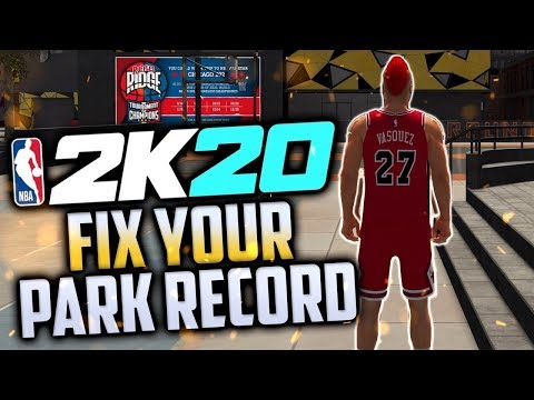 HOW TO WIN EVERY PARK GAME IN NBA 2K20!! |