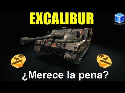 World of Tanks Español: Excalibur ¿merece la pena? thumbnail