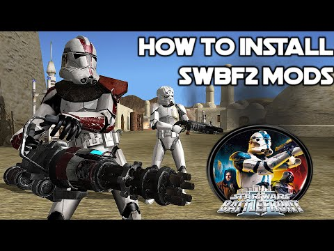 How To Install Star Wars Battlefront 2 2005 Mods