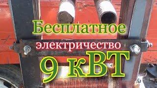 Бесплатное электричество  Бесплатный газ для отопления дома