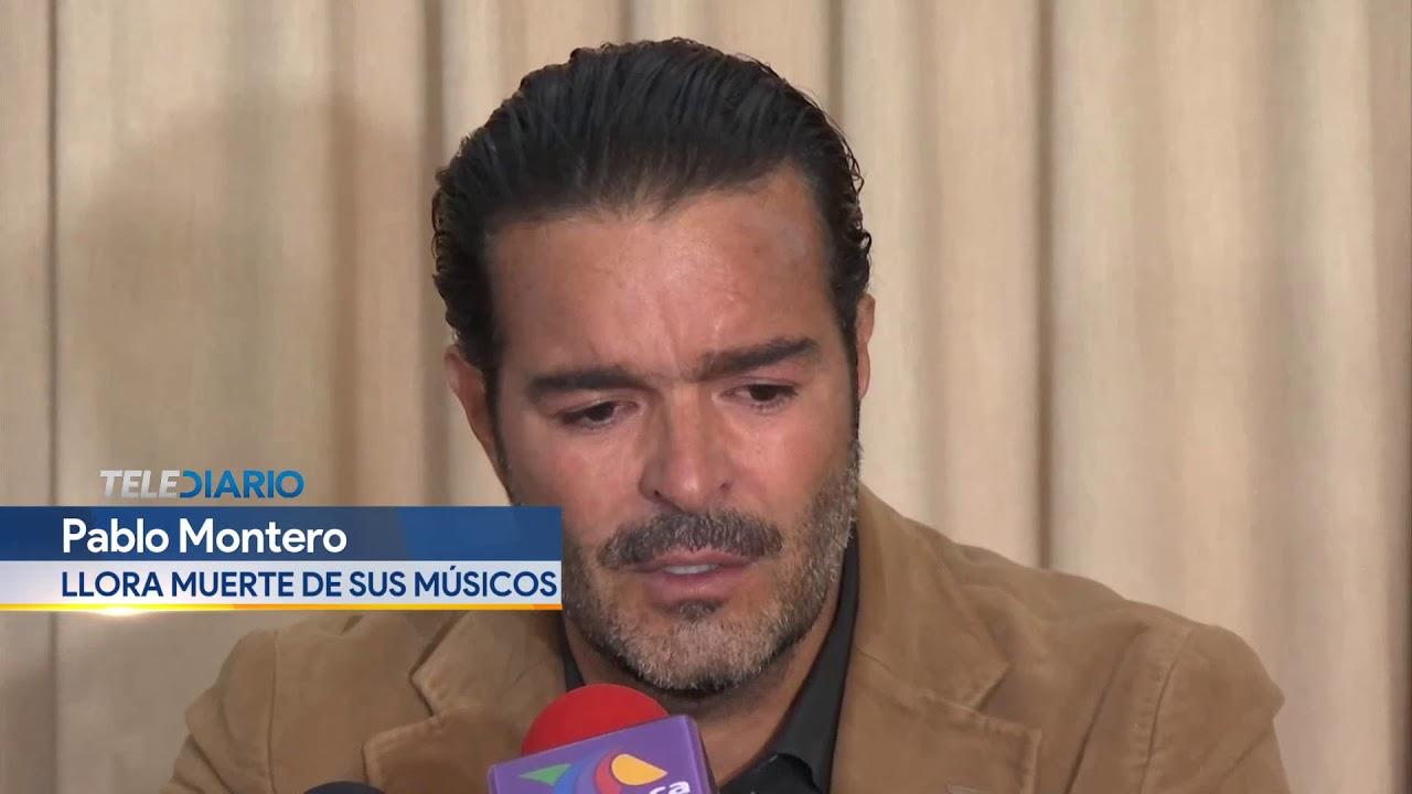 Pablo Montero llora muerte sus músicos por Covid-19