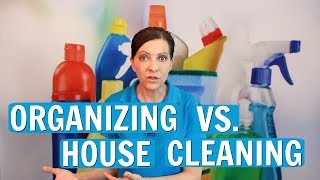 Organizing vs. House Cleaning - What is the Difference? ⭐⭐⭐⭐⭐