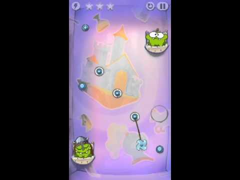 Cut The Rope Time Travel Level 1-11 Walkthrough | The Middle Ages Level 1-11 Walkthrough