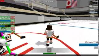 NHL ROBLOX CALGARY VS PITTSBURGH