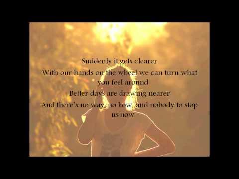 Lucy Schwartz - Count On Me lyrics on screen