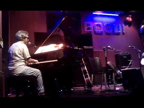 CAJUN MOON (Kike Jambalaya & David Gwynn) / Bogui Jazz, 11 julio 2013
