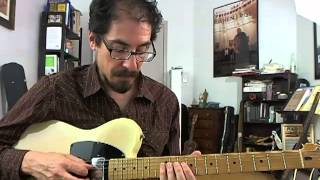 50 Jazz Blues Licks - #40 Barry Harris - Guitar Lesson - David Hamburger