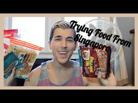 TRYING FOOD FROM SINGAPORE! | ZACK ARAD