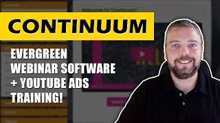 Continuum Review and Demo: Continuum Webinar Software