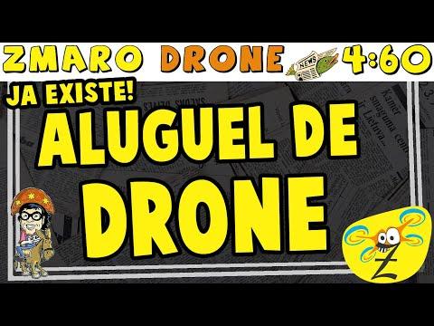 Aluguel De Drone Existe Sim! Veja Em 4:60 Com Zmaro