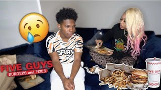 MY GIRLFRIEND KYE BREAKS UP WITH ME OVER MY MIAMI TRIP..* I cried* (Mukbang)