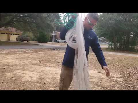 Easy Way To Throw A Cast Net