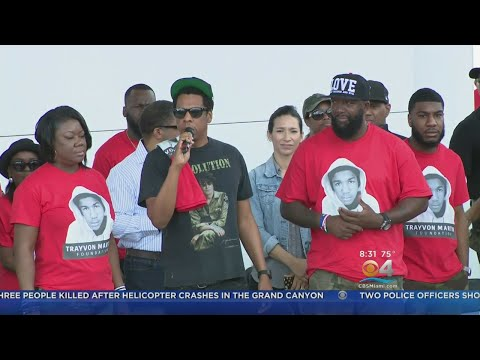 Annual Peace Walk In Miami Gardens Gets Big Surprise Appearance From Superstar Jay-Z