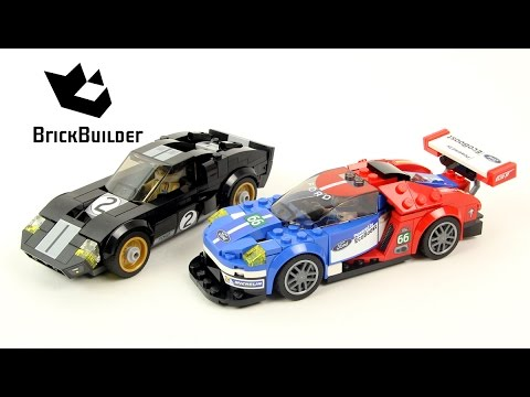 LEGO Speed Champions 75881 Ford GT & Ford GT40 Speed Build for Collecrors – Full Collection (12/39)