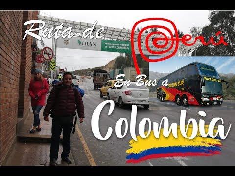 Desde Trujillo Perú Hasta Cali Colombia En Bus