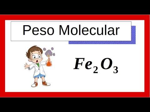 Peso Molecular Ejemplo 01