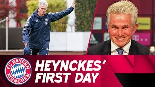 "Jupp heynckes is back - his ""first"" day at fc bayern"